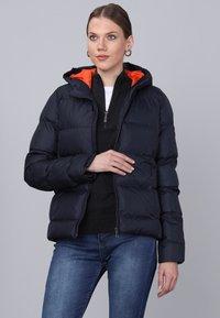 Basics and More - Winter jacket - navy - 2