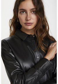 Soaked in Luxury - Leather jacket - black - 3