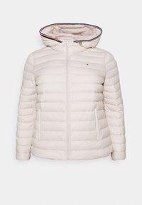 Tommy Hilfiger Curve - PACK - Down jacket - vintage white - 4