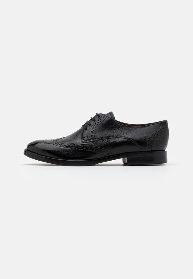 AMELIE  - Smart lace-ups - pisa black