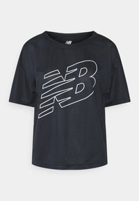 ACHIEVER GRAPHIC - Print T-shirt - eclipse