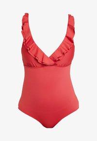LASCANA - JETTE JOOP BY LASCANA SWIMSUIT - Swimsuit - rust red - 4