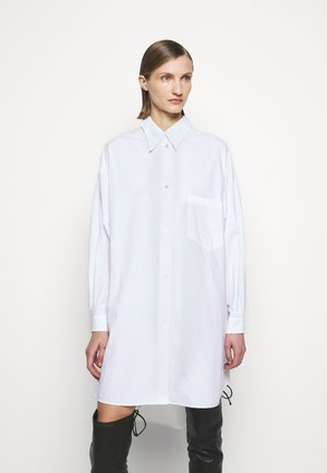 OVERSIZED SHIRT DRESS - Robe chemise - white