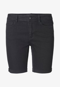 Vero Moda - Denim shorts - black - 3