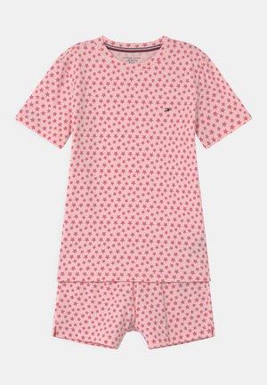 PRINT - Pyžamová sada - pink
