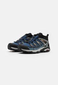 Salomon - X ULTRA 3 GTX - Hiking shoes - dark denim/copen blue/pale khaki - 1
