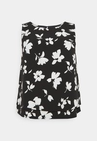 Anna Field Curvy - Top - black/white - 0
