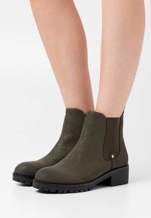 Ankle boots - olive