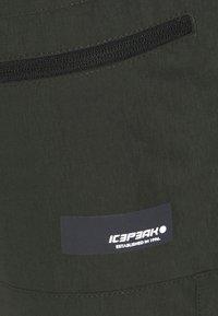 Icepeak - CARLTON - Sportovní kraťasy - dark green - 5