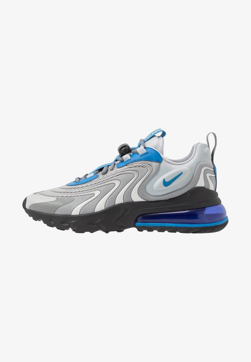 Nike Sportswear - AIR MAX 270 REACT ENG - Sneakersy niskie - light smoke grey/battle blue/smoke grey/black/hyper blue/white