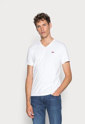 VNECK - T-shirt basic - white