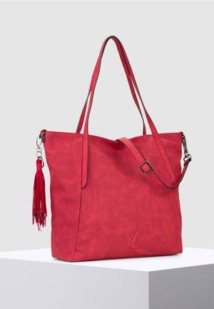 ROMY BASIC - Tote bag - red