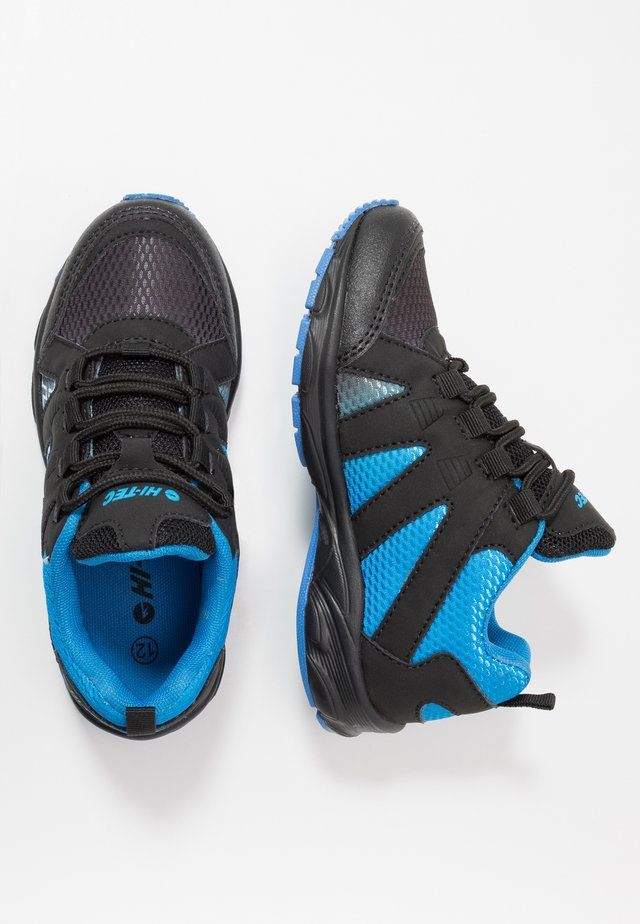 WARRIOR - Hiking shoes - blue/black