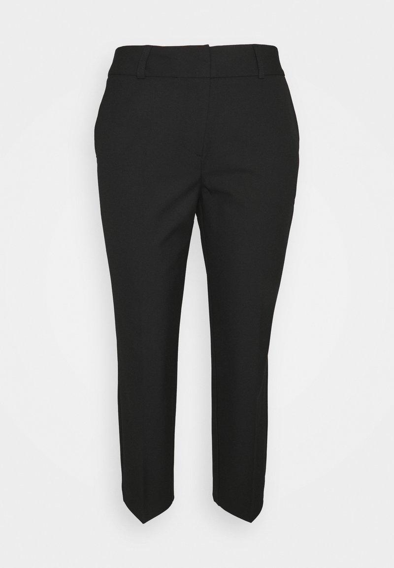 Selected Femme Petite - SLFRIA CROPPED PANT - Trousers - black