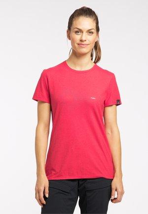Print T-shirt - scarlet red