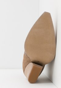 Lazamani - High heeled ankle boots - taupe - 6
