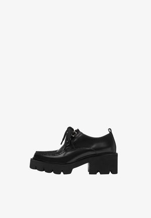 WALLABEE  - Lace-ups - black