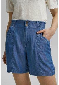 Esprit - Denim shorts - blue medium wash - 0