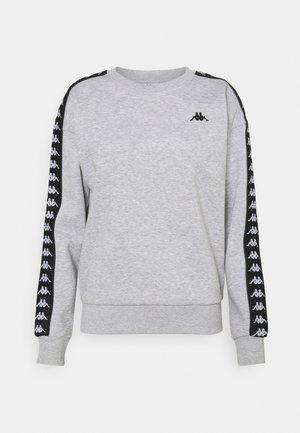 JANKA - Sweatshirt - high rise melange