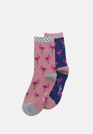 SOCKS 2 PACK - Socken - twilight blue/rose pink