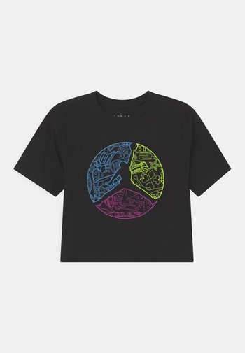 JUMPMAN COLOUR UP TEE - T-shirt con stampa - black