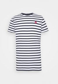 Kronstadt - Navey - T-shirt print - navy white - 0