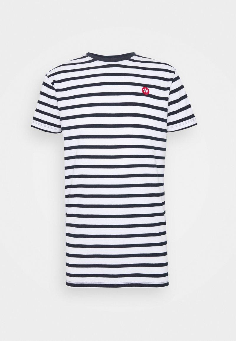 Kronstadt - Navey - T-shirt print - navy white