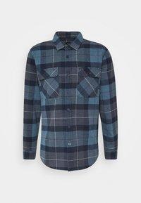 Brixton - BOWERY  - Shirt - navy/carolina blue - 0