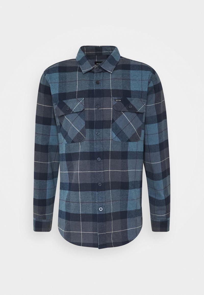 Brixton - BOWERY  - Shirt - navy/carolina blue