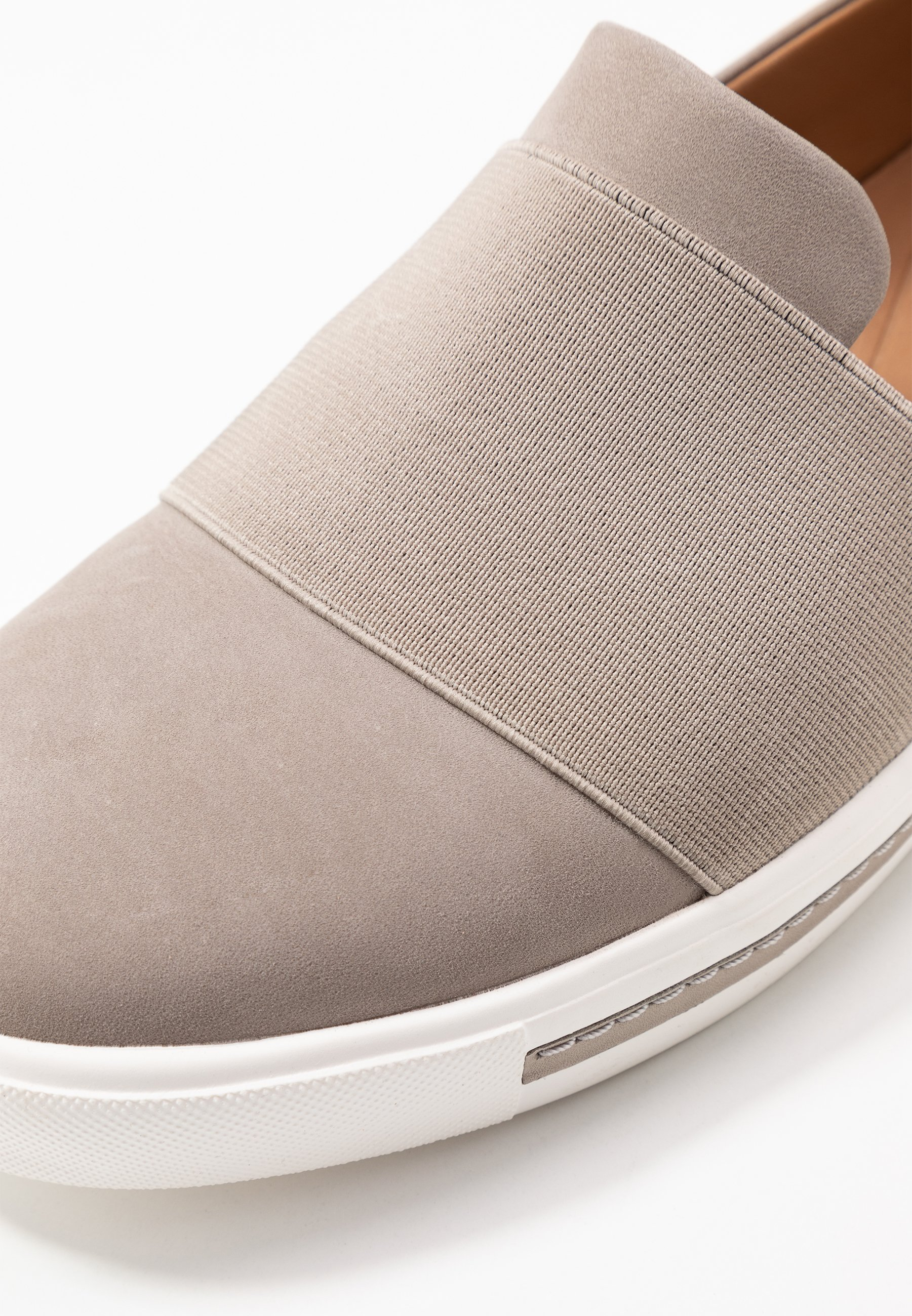 Clarks Unstructured Maui Step - Slippers Stone/lysgrå