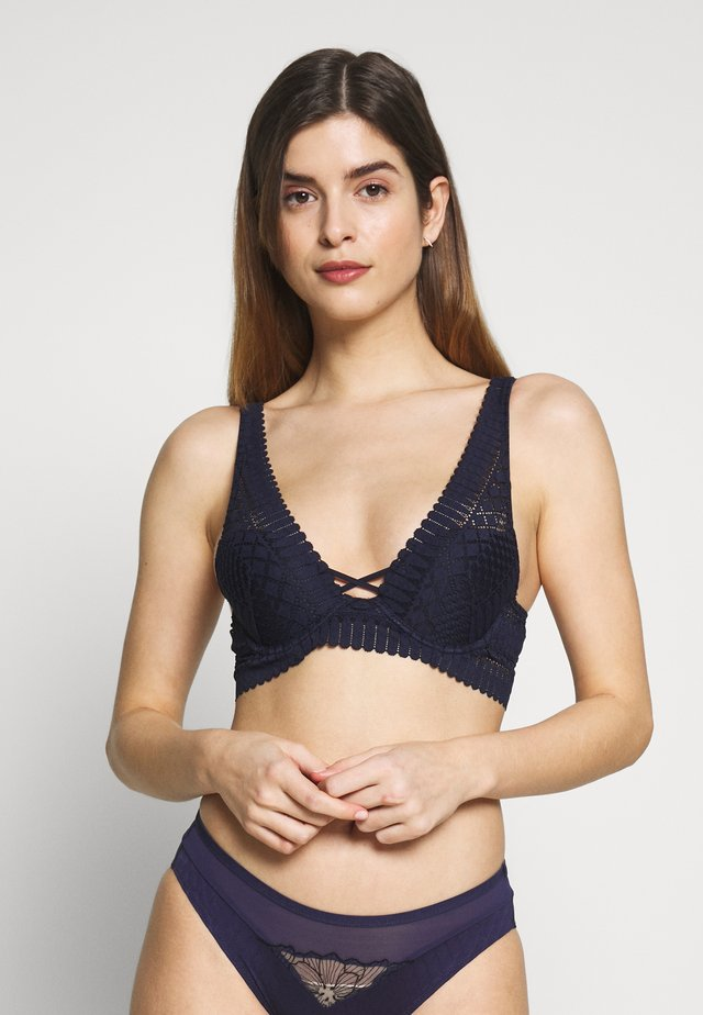 Triangle bra - marine