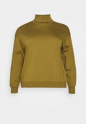 VMMERCY ROLL NECK - Felpa - fir green