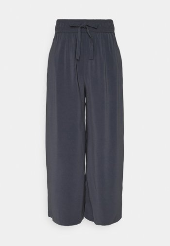 ONLCILLE STRING CULOTTE - Trousers - ombre blue