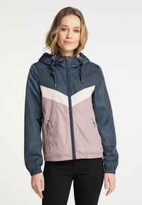 DreiMaster - Light jacket - grau blau vint.rosa - 0