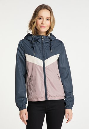 Light jacket - grau blau vint.rosa