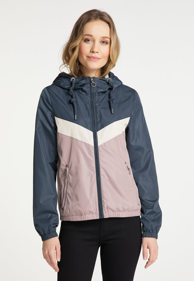 DreiMaster - Light jacket - grau blau vint.rosa