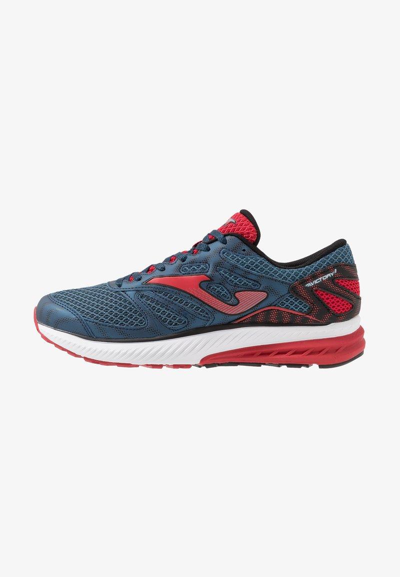 Joma - VICTORY - Obuwie do biegania treningowe - dark blue/red