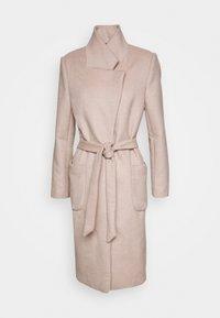 JASMINA PERLE COAT - Klasický kabát - roasted grey khaki