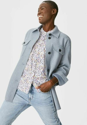 Short coat - light blue