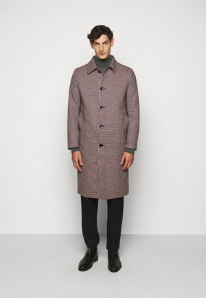 WORLD - Classic coat - red blue/brown/white