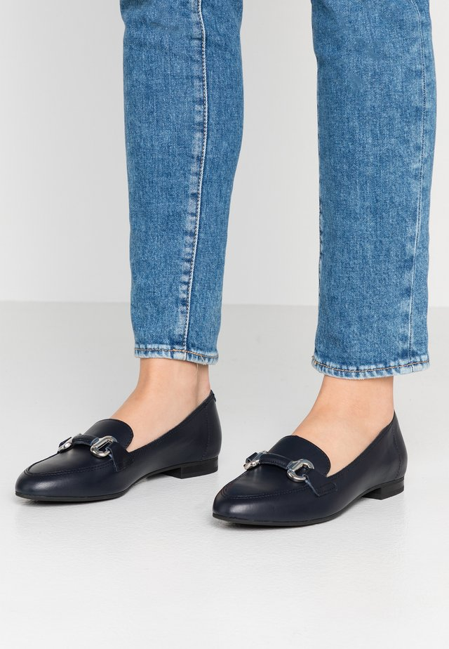 SABY LOAFER - Slip-ons - navy