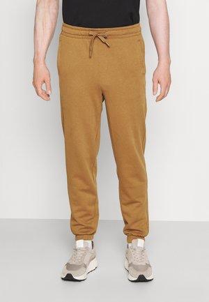 JOGGER TERRY - Pantalones deportivos - tan