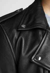 Royal Denim Division by Jack & Jones - Leather jacket - black