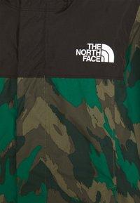 The North Face - RESOLVE REFLECTIVE JACKET - Hardshellová bunda - evergreen mountain - 2
