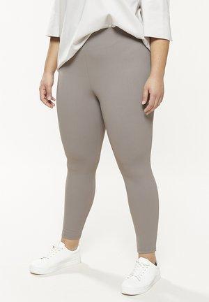 PONTO - Leggings - Trousers - fango