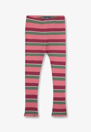 SANETTA KIDSWEAR - MÄDCHEN-LEGGINGS PINK SWEAT FRUITS   - Leggings - Trousers - rosa