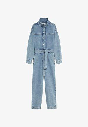 Jumpsuit - medium blue