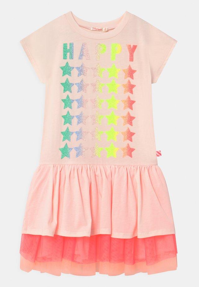Jerseykleid - pinkpale