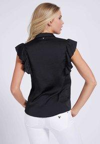 Guess - Button-down blouse - schwarz - 2