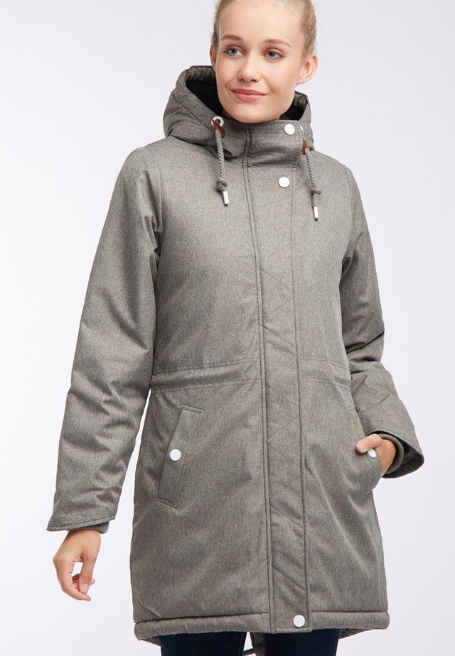 Talvitakki - mottled grey